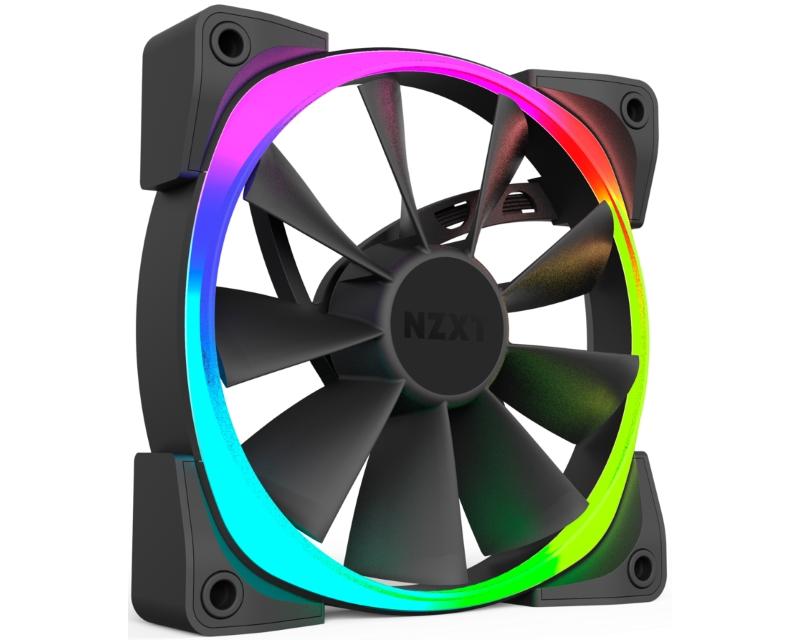 NZXT                           Aer RGB LED 140mm ventilator (RF-AR140-B1)