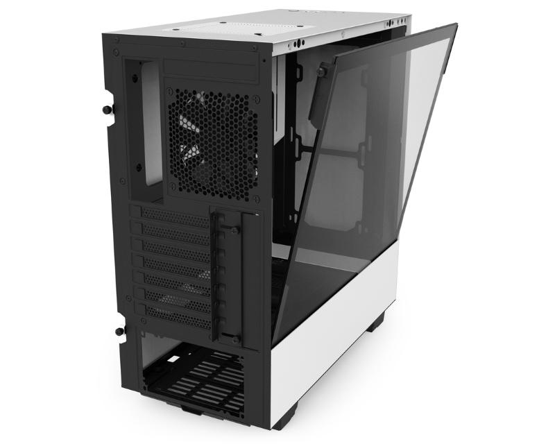 NZXT                           H500 kućište belo crno (CA-H500B-W1)