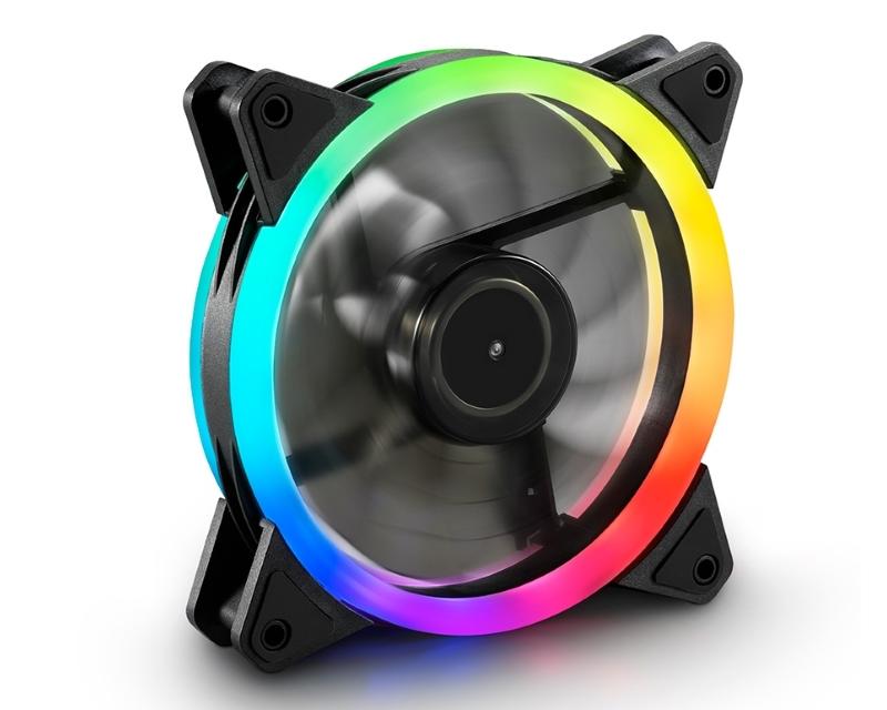 SHARKOON                       SHARK RGB ventilator