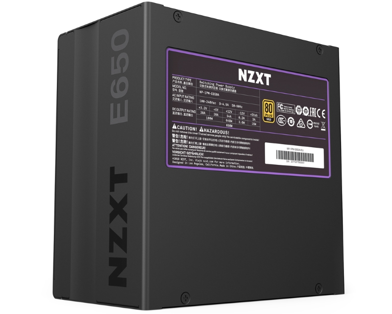 NZXT                           C650 650W (NP-C650M-EU) napajanje