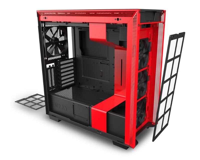 NZXT                           H710i SMART kućište crno-crveni (CA-H710I-BR)