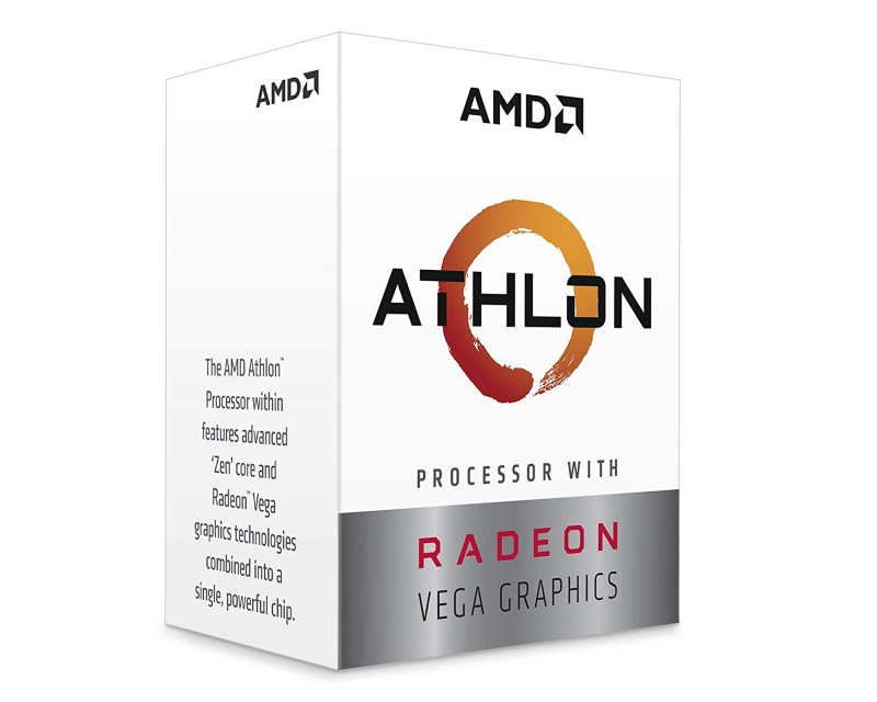 AMD                            Athlon 240GE 2 cores 3.5GHz Box