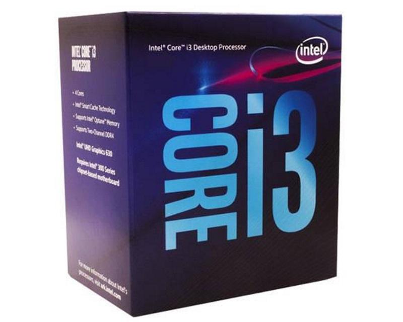 INTEL                          Core i3-9100F 4-Core 3.6GHz Box