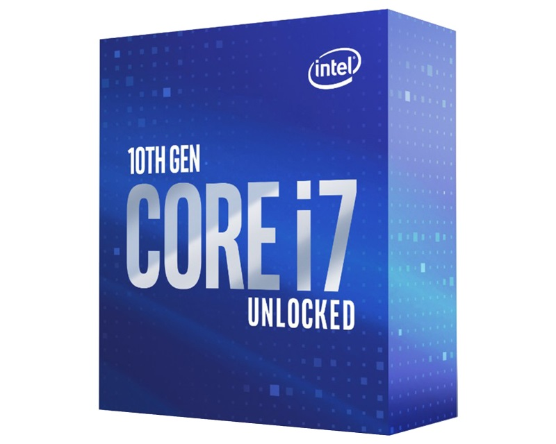 INTEL                          Core i7-10700K 8-Core 3.80GHz (5.10GHz) Box