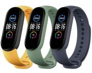 XIAOMI                         Mi Smart Band 5 Strap (3 pack) Navy Blue/Yellow/Mint Green