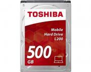 """TOSHIBA                        500GB 2.5"""" SATA III 8MB 5.400rpm HDWK105UZSVA L200 series"""