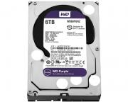 "WD                             6TB 3.5"" SATA III 64MB IntelliPower WD60PURZ Purple"