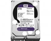 "WD                             2TB 3.5"" SATA III 64MB IntelliPower WD20PURZ Purple"