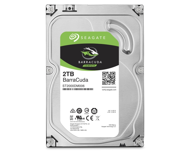 "SEAGATE                        2TB 3.5"" SATA III 256MB 7.200rpm ST2000DM008 Barracuda"