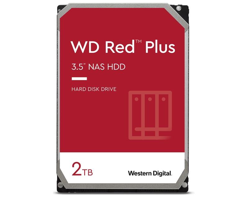 "WD                             2TB 3.5"" SATA III 128MB WD20EFZX Red Plus"