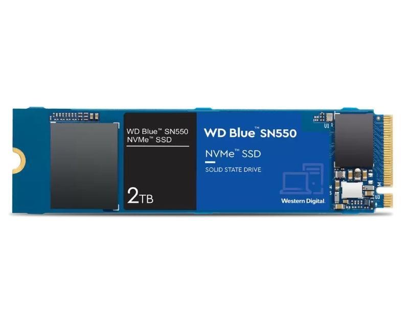 WD                             2TB M.2 NVMe Gen3 WDS200T2B0C Blue