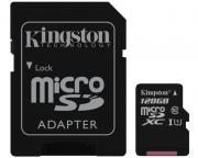 KINGSTON                       UHS-I MicroSDXC 128GB 80R class 10 SDCS/128GB + adapter