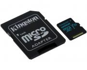 KINGSTON                       UHS-I U3 MicroSDXC 128GB V30 + Adapter SDCG2/128GB Go