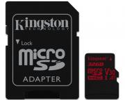 KINGSTON                       UHS-I U3 MicroSDHC 32GB V30+ Adapter SDCR/32GB React