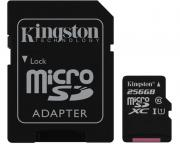 KINGSTON                       UHS-I MicroSDXC 256GB 80R class 10 SDCS/256GB + adapter Select