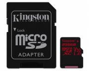 KINGSTON                       UHS-I U3 MicroSDXC 256GB V30+ Adapter SDCR/256GB React
