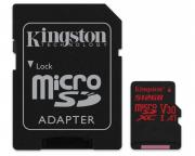 KINGSTON                       UHS-I U3 MicroSDXC 512GB V30+ Adapter SDCR/512GB React
