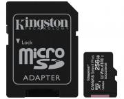 KINGSTON                       A1 MicroSDXC 256GB 100R class 10 SDCS2/256GB + adapter