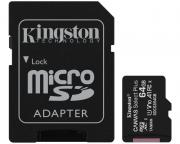 KINGSTON                       A1 MicroSDXC 64GB 100R class 10 SDCS2/64GB + adapter
