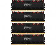 KINGSTON                       DIMM DDR4 128GB (4x32GB kit) 3200MHz KF432C16RBAK4/128  Fury Renegade RGB
