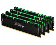 KINGSTON                       DIMM DDR4 128GB (4x32GB kit) 3600MHz KF436C18RBAK4/128 Fury Renegade RGB