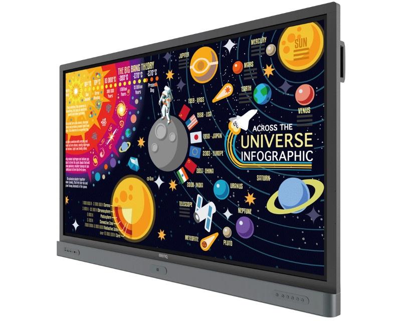 "BENQ                           65"" RP6501K LED Touch monitor"