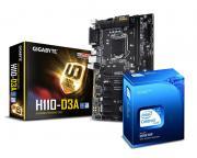 GIGABYTE                       GA-H110-D3A + INTEL Celeron G3900 2-Core 2.8GHz