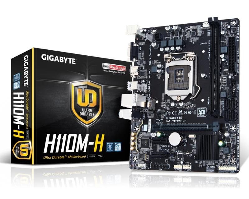 GIGABYTE                       GA-H110M-H rev. 1.0