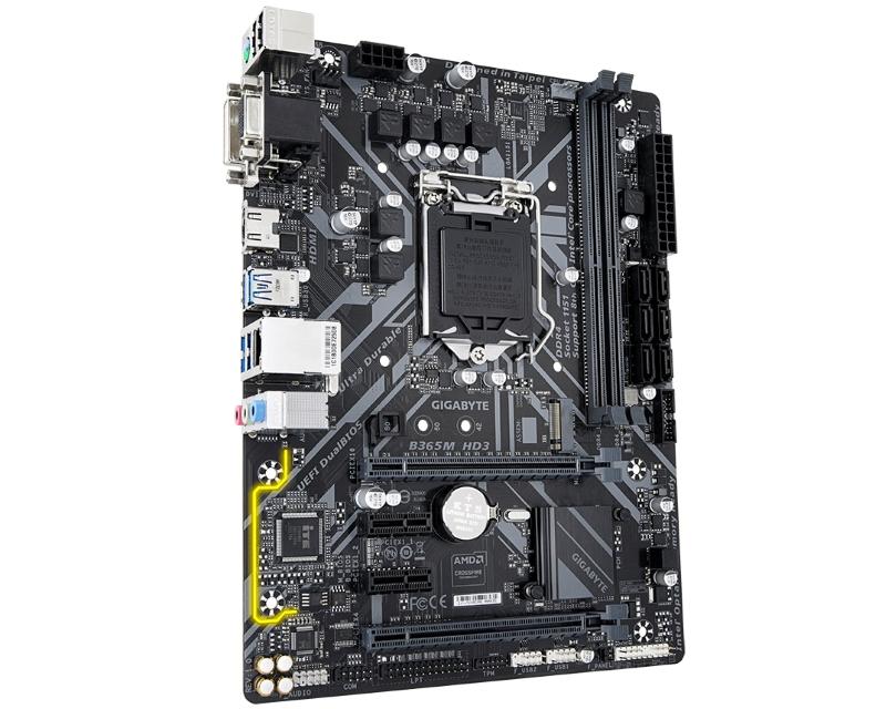 GIGABYTE                       B365M HD3 rev. 1.0