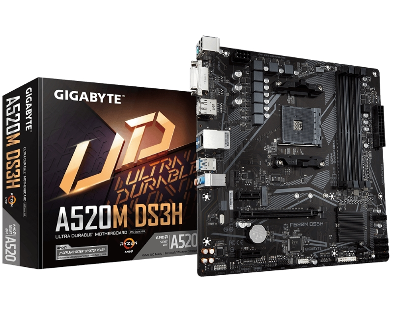 GIGABYTE                       A520M DS3H rev. 1.0