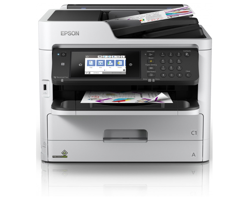 EPSON                          WorkForce Pro WF-C5790DWF wireless multifunkcijski inkjet uređaj