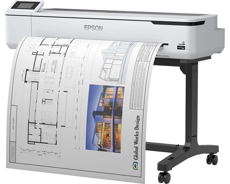 "EPSON                          SureColor SC-T5100 inkjet štampač/ploter 36"""
