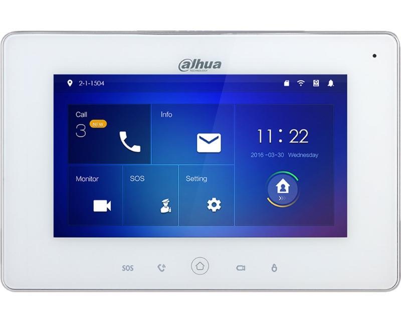 DAHUA                          I-VTH5221DW-C Wi-Fi Indoor Monitor