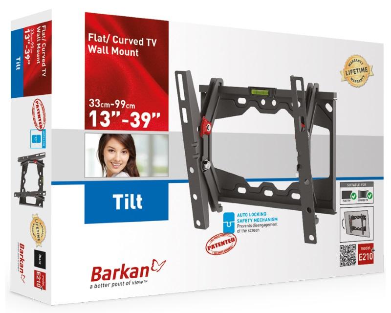 """BARKAN                         E210+.B LCD TV zidni nosač do 39"""""""