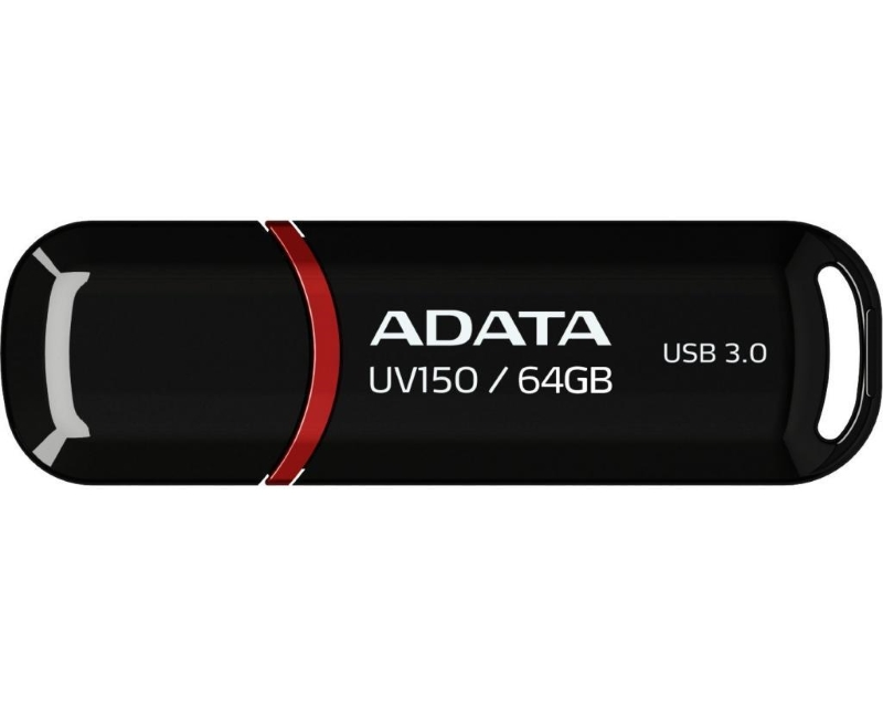 A-DATA                         64GB 3.1 AUV150-64G-RBK crni