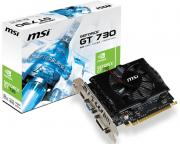 MSI                            nVidia GeForce GT 730 2GB 128bit N730-2GD3V2