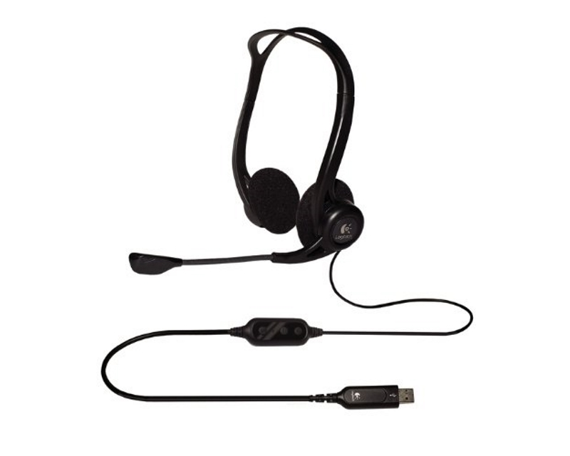 LOGITECH                       PC960 Headset USB OEM