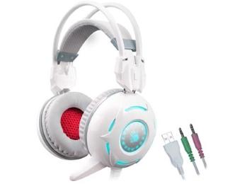 A4 TECH                        G300 Bloody Gaming slušalice sa mikrofonom bele