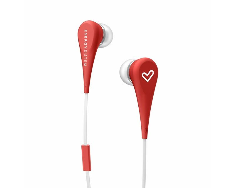 ENERGY SISTEM                  Energy Style 1+ crvene bubice sa mikrofonom